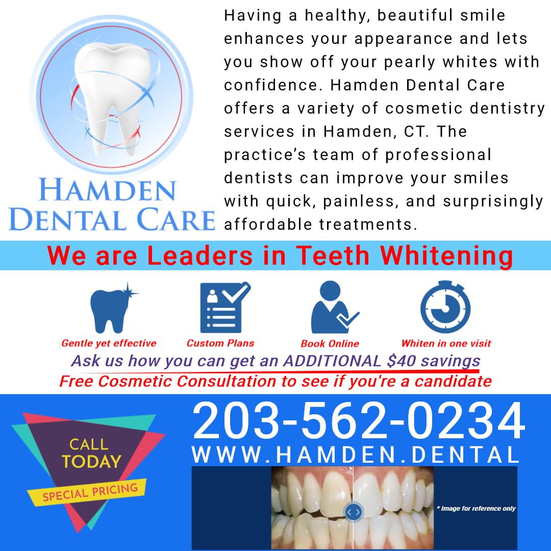 Hamden Dental Care Hamden CT - Leaders in Teeth Whitening