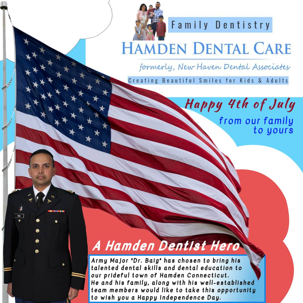 Hamden Dental Care 4th of July Celebration