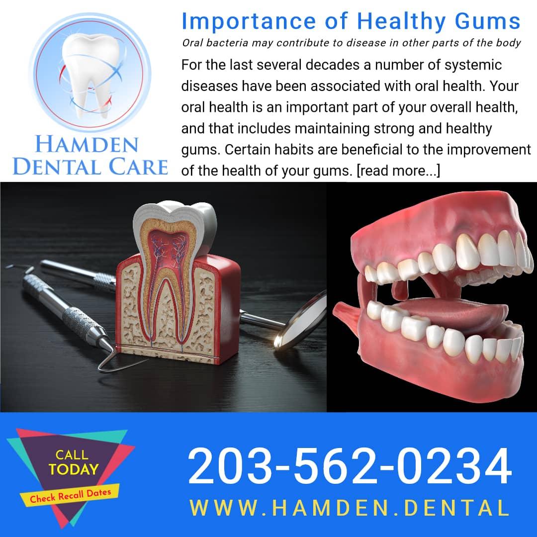 Hamden Dental Care Hamden CT healthy gums